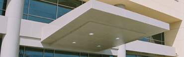 Canopy Panel Systems & Architectural Metal Systems Glass Awning and Supplies Manufactured ...